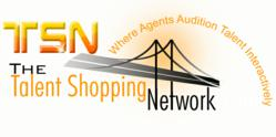 The Talent Shopping Network logo