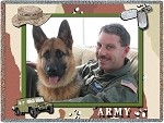 military photo throw, military picture blanket