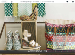 Anthropologie catalog - Shopmox iPad app