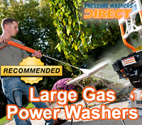 best large gas pressure washer, best large gas power washers,