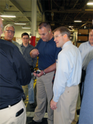 Congressman Jordan tours American Trim's manufacturing facility in Sidney, OH