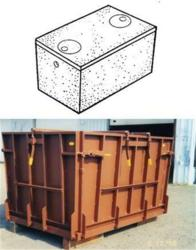 septic tank forms, septic tank molds