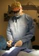 Dr. Paul Turek performing surgery