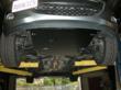 CorkSport Mazda 2 Skid Plate Installed