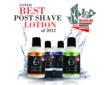 Men's Health 2012 Grooming Awards, eShave After Shave Soothers, Best Post Shave Lotion