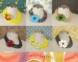 Vintage Statement Necklaces, by Jenne Rayburn