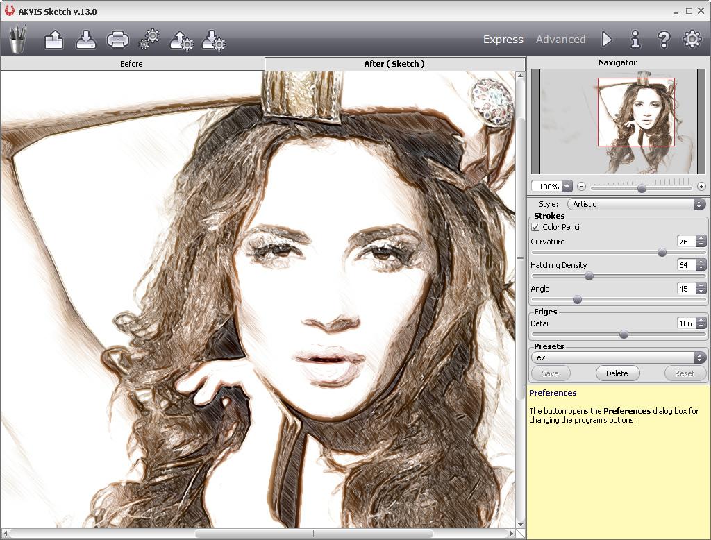 Update Of Akvis Artistic Bundle Sketch 13 5 Artwork 6 5 Artsuite 8 0 Cs6 Compatibility