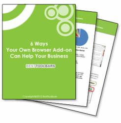 "Free Whitepaper ""6 Ways Your Own Browser Add-on Can Help Your Business"""