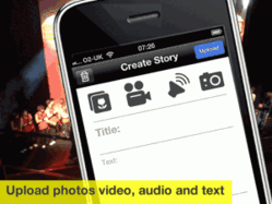 MakeWaves photo video sharing iPhone App from Radiowaves