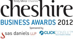 Click Consult and SAS Daniels Sponsor Cheshire Business Awards