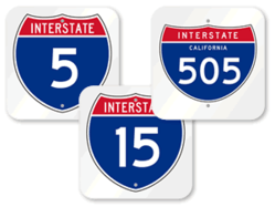 Top Selling Interstate Signs