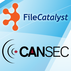 Filecatalyst at CANSEC
