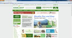 Botanic Choice has a new website for nutritional supplements and beauty care products.