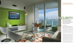 Jewish magazine features j design group s breathtaking for Miami interior design magazine