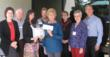 Pathways Home Health & Hospice Board Members and Executives Accept Check from the CareMore Foundation.