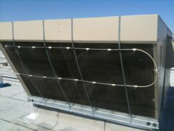 Cool-n-Save on a roof-top condensing coil.
