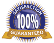 100% Satisfaction Guarantee On All Seats