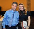 "Donna DiMaggio Berger and law partner Leigh C. Katzman at ""100 Outstanding Women of Broward"" Awards, Davie, FL"