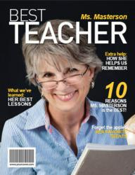 Best Teacher Personalized Magazine Cover