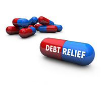 debt relief pills