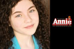 "Lilla Crawford is Featured in ""Annie"" in the 2012 Revival of the Hit Broadway Musical"