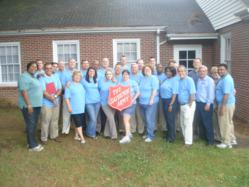 JHM volunteers at Greenville's Salvation Army shelter