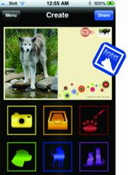 "Keshet's electronic postcard application - ""Dog ePost"".  All proceeds will be used to support Keshet's dog rescue efforts."