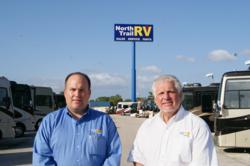 Alan Erp, Vice President and Al Erp, President, North Trail RV Center