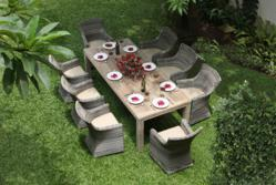 Seville Garden Furniture Dining Set