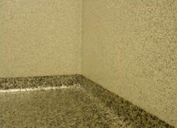 Washroom cove detail