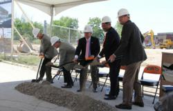 Indiana Tech Law School groundbreaking ceremony