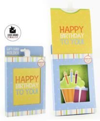 Gift Card Impressions Happy Birthday Gift Box Reveal packaging