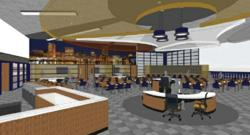 High School Redefined for 21st Century Learners – Unlike traditional high school environments, the new Nexus Academy Blended High Schools will more closely resemble college campus seminar rooms and student common areas.