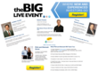 The Big Live Event Speaker List