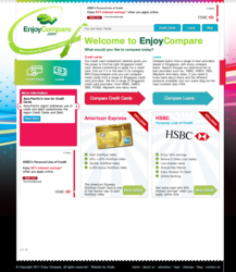 Compare Credit Card and Loan offers in Singapore - Enjoycompare.com