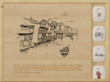 Fantastic Hand Drawing of Wuzhen Town