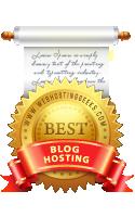 best blog hosting award