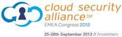 Cloud Security Alliance EMEA Congress 2012