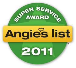 Super Service Award Seal