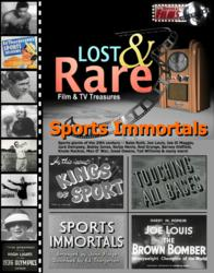 "sports movies, sports shorts, sports history, ""Touching All Bases"" (1939), ""The Brown Bomber"" (1937), ""1936 Olympic Highlights"" (1936)"