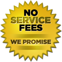 NO Service Fee Tickets