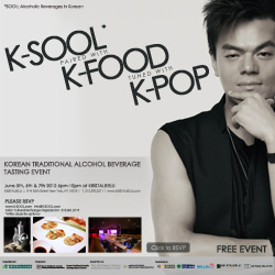 K-SOOL paired with K-FOOD tuned with K-POP at KRISTALBELLI