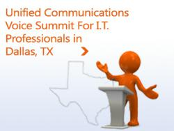 Dallas Lync Voice Summit 2012