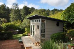 Studio shed pre-fab home office