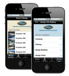 Grady-White iPhone App