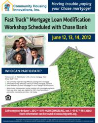 Home Loan Modification workshop in Westchester