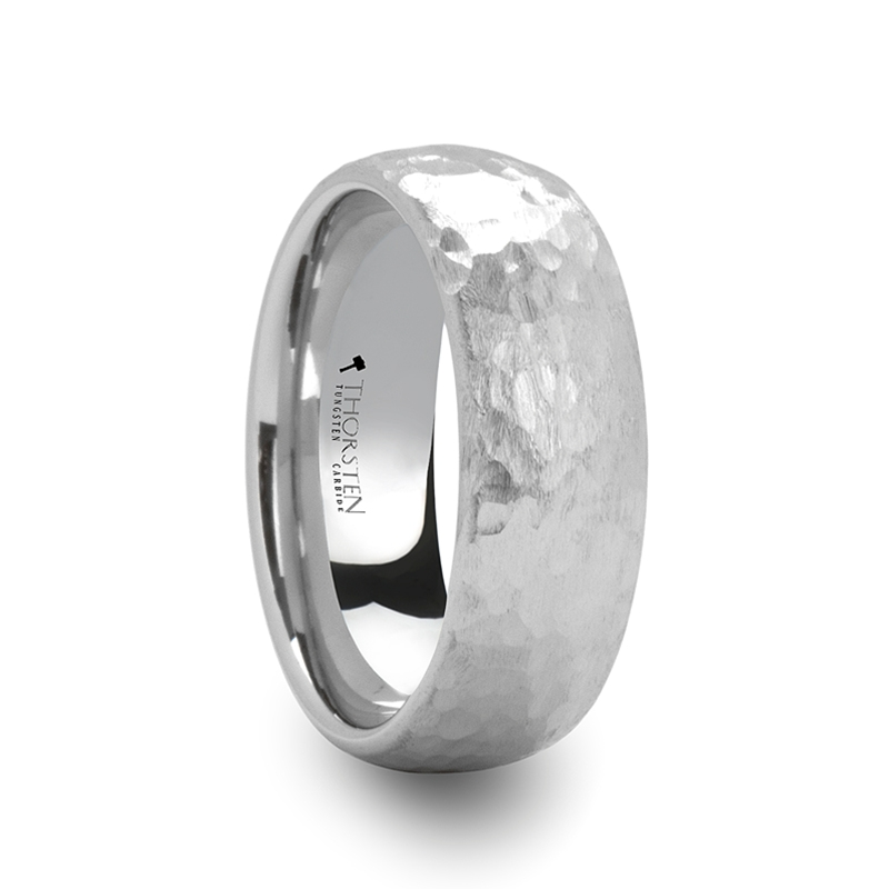 Larson Jewelers Introduces Hammered Tungsten Rings Line