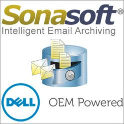 SonaVault Email Archiving Appliance featuring DELL Servers