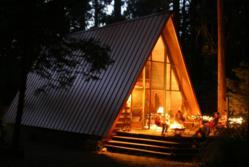Idyllcreed A-Frame cabin