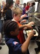 Scouts making awesome Detroit Style Pizzas